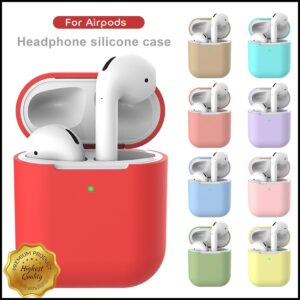 Silicone Case Protector for Bluetooth Earphone Air Pods - RHIZMALL.PK Online Shopping Store.