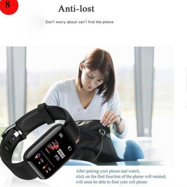 D13 Smart Band Waterproof SmartWatch With Heart Rate Monitor - RHIZMALL.PK Online Shopping Store.