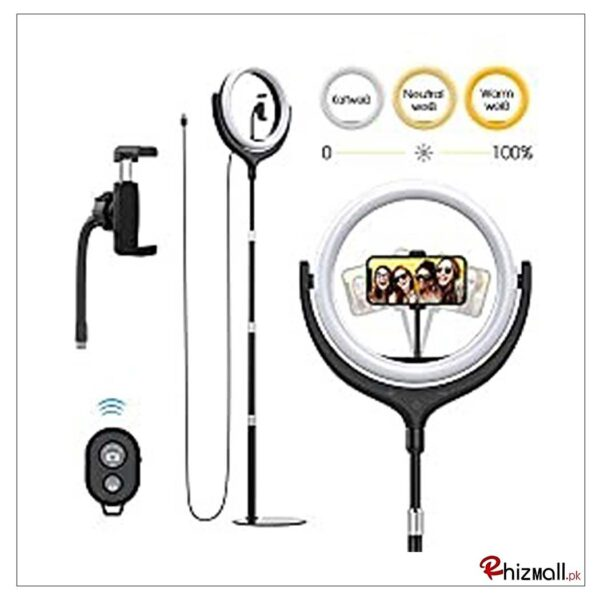 Selfie Ring Light with or without Tripod Stand
