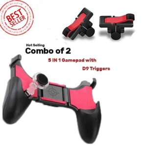 5 in1 Pubg Game Gamepad Trigger Fire Button joystick controller - RHIZMALL.PK Online Shopping Store.