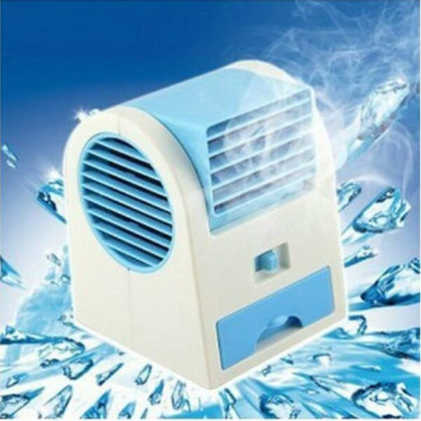 Mini USB AC Fragrance Air Conditioner Cooling Fan Cooling Portable - RHIZMALL.PK Online Shopping Store.