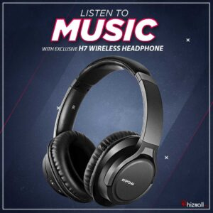 Mpow H7 Bluetooth Headphones, Comfortable Over Ear Wireless Headphones