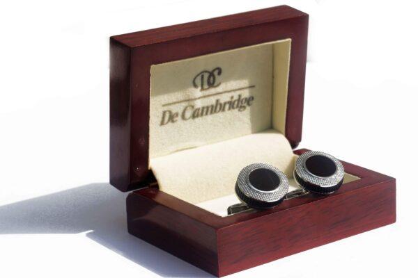 Ampersand Luxury Stainless Steel Cufflink - RHIZMALL.PK Online Shopping Store.