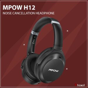MPOW H12 Hybrid Active Noise Cancellation Headphone
