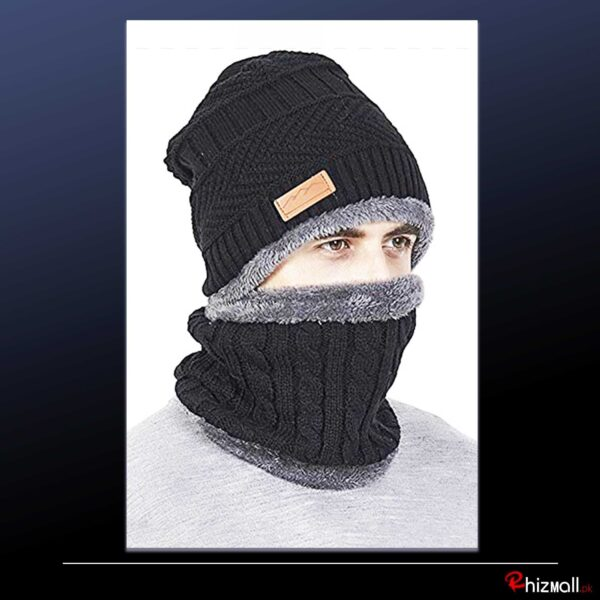 Fashionable Warm knit Beanie Woolen Cap For WInters