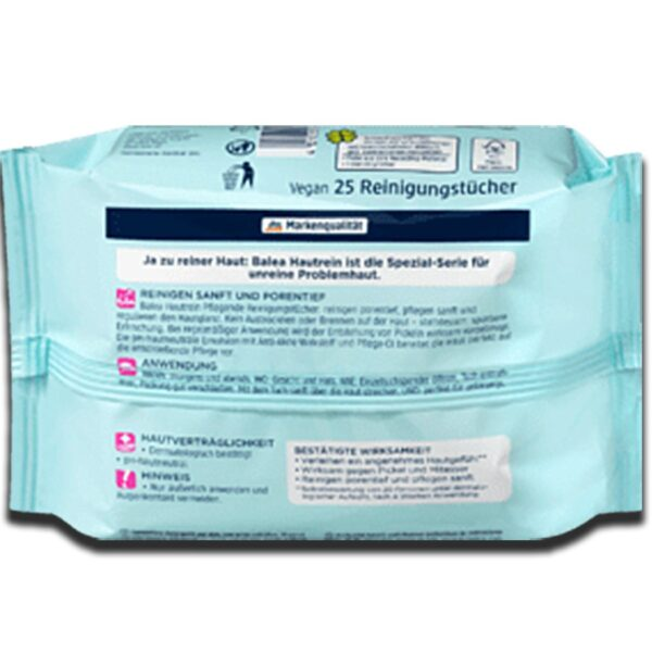 Cleansing wipes clean, 25 pc - RHIZMALL.PK Online Shopping Store.
