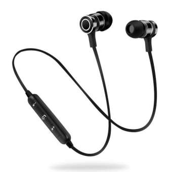 Magnetic Wireless Bluetooth Handsfree for all smartphones - RHIZMALL.PK Online Shopping Store.