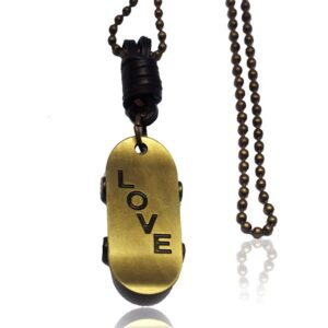 Skateboard Love Necklace - RHIZMALL.PK Online Shopping Store.