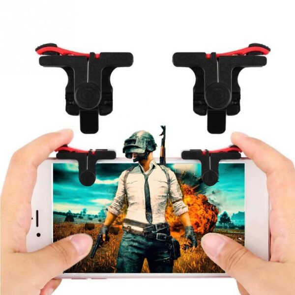 Mobile phone  D9 PUBG Mobile Game Controller Gamepad Trigger - RHIZMALL.PK Online Shopping Store.
