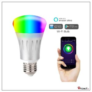 WiFi Smart Light Bulb BubFi-05, LED Color Changing