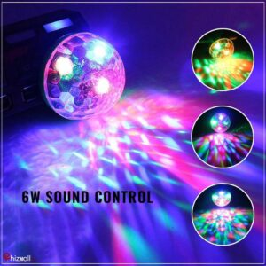 LED Small Magic Ball With 6W Sound ControlLED Small Magic Ball With 6W Sound Control