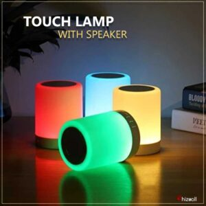 Touch Portable Light Lamp With Speaker