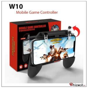 w10 pubg controller price in pakistan  mobile game controller w11+  controller for pubg mobile  pubg trigger controller  pubg mobile holder  universal mobile game controller  pubg android controller  official pubg mobile controller