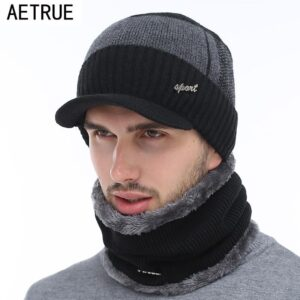 AETRUE Winter Hats Skullies Beanies Hat Winter Beanies - RHIZMALL.PK Online Shopping Store.