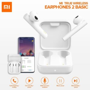 Buy Mi Earphone 2 Basic The new headphones have a long battery life. With excellent sound quality, easy to adjust. Mi True Wireless Earphones 2 Basic |Rhizmall.pk